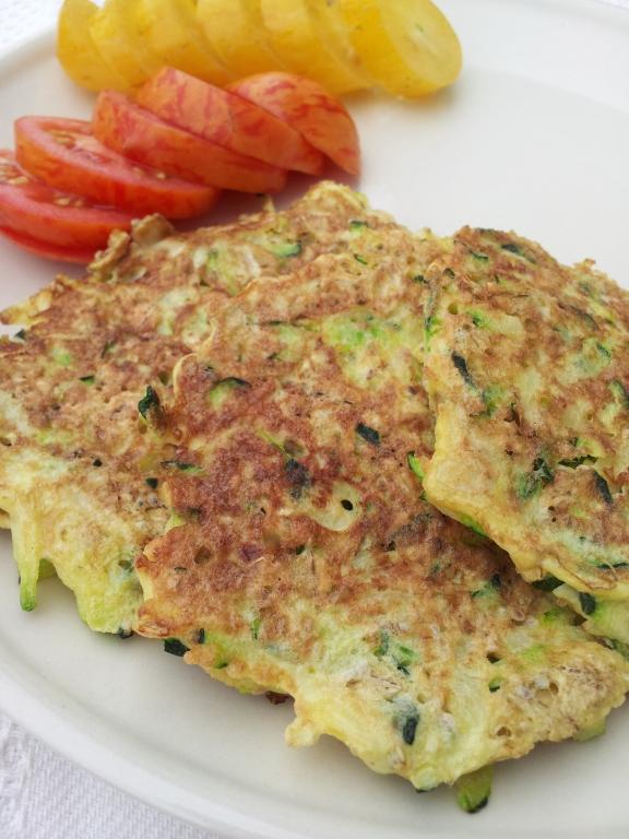 Zucchini oatmeal patties1